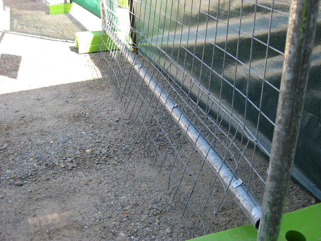 dog proofing, dog proof fence